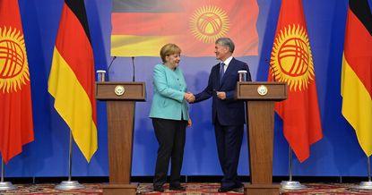 Деловой ракурс: все о бизнес-переговорах Меркель и Атамбаева