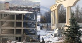 Почему вместо школы и парка в Бишкеке появилось два новых долгостроя
