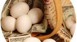 Спастись от инфляции – правильно выбрать корзину для яиц