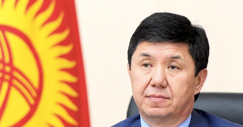 Темир Сариев связал свою отставку с изменением политического климата