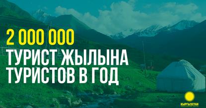 Партия «Кыргызстан»: Увеличим количество туристов до 2 млн в год!