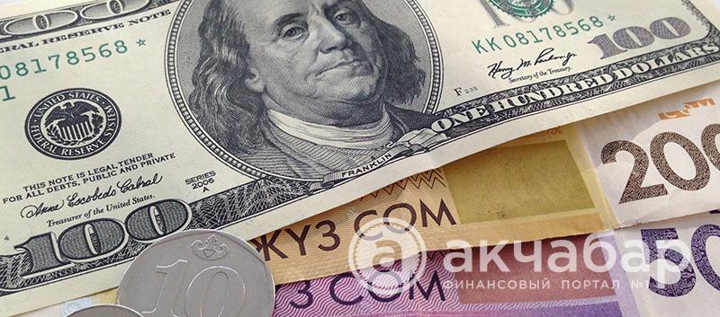 Курс доллара в Бишкеке