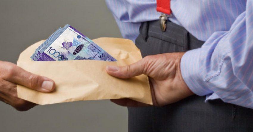 Назван размер самой крупной взятки в Казахстане
