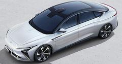 Alibaba презентовала свой электромобиль с беспроводной зарядкой