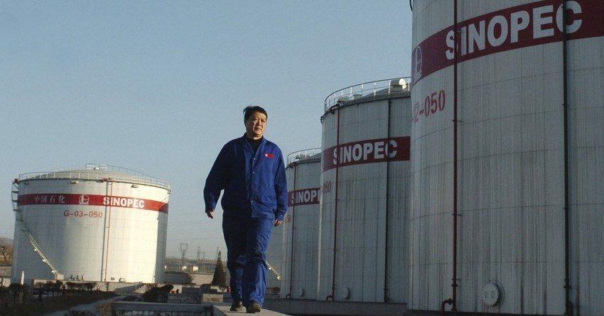 Выручка крупнейшей китайской нефтяной компании Sinopec упала на 37%