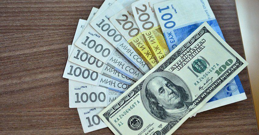 В октябре сомовые депозиты были чуть популярнее валютных вкладов