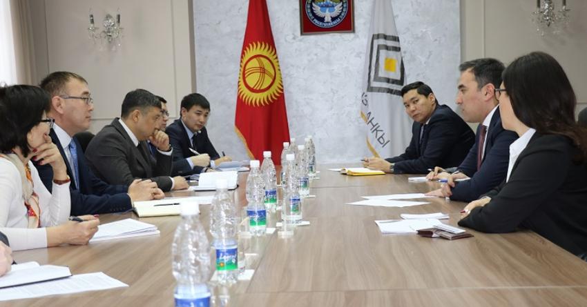 Толкунбек Абдыгулов встретился с делегацией Европейского банка реконструкции
