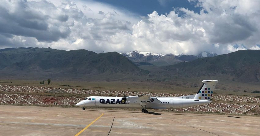 Аэропорт «Иссык-Куль» 1 июля принял первый рейс из Алматы