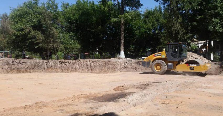 Мэрия начала строительство нового корпуса детского сада за 17 млн сомов
