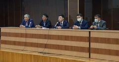 Нового председателя «Кыргызалтына» представили коллективу