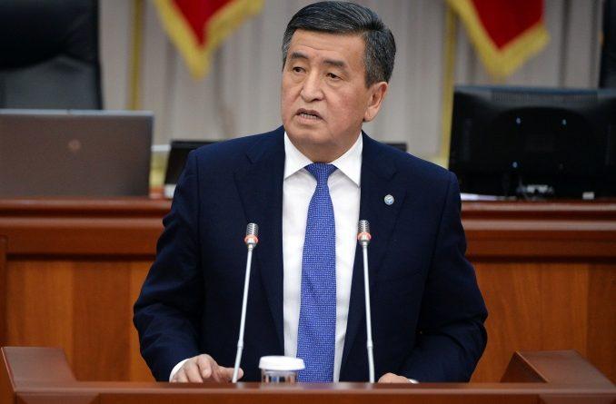 Сооронбай Жээнбеков пообещал повышение зарплат