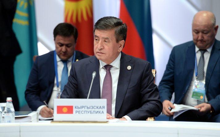 Жээнбеков предложил ввести тройной таможенный контроль на  границах