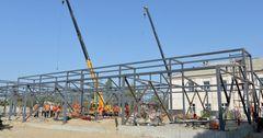 В Оше строят школу на средства от борьбы с коррупцией