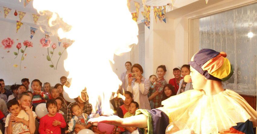 FINCA Банк устроил праздник для воспитанников детских домов
