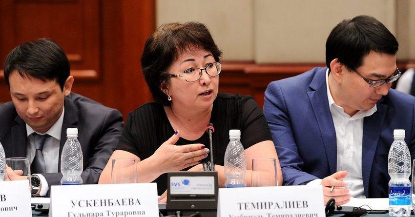 В Кыргызстане слишком активно меняется законодательство. Это мешает бизнесу - Ускенбаева