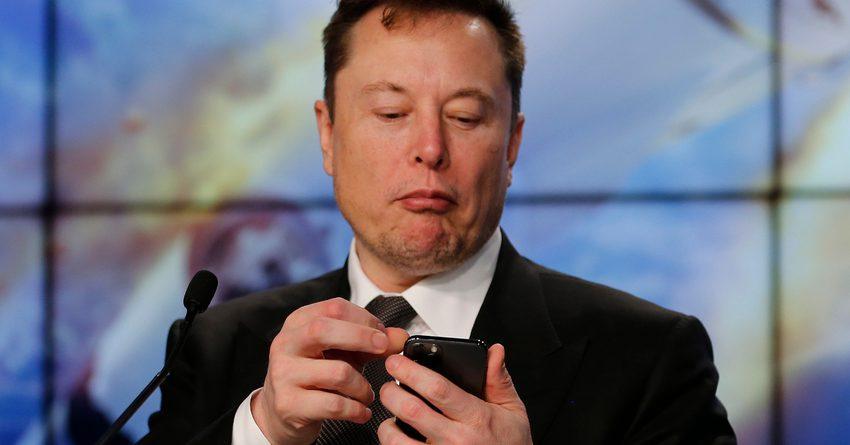 Криптовалюга сындан улам, Илон Масктын байлыгы 20 млрд долларга төмөндөдү