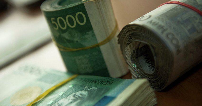 Объем депозитов клиентов комбанков КР в марте 2017 года составил 46 млрд 762 млн сомов