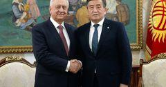 Президент КР принял нового председателя коллегии ЕЭК