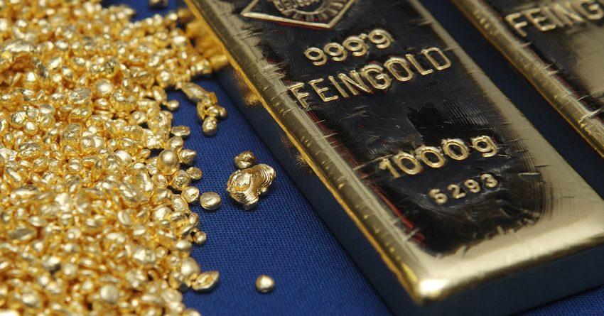 За два года Национальный банк КР продал 169 кг золота в слитках