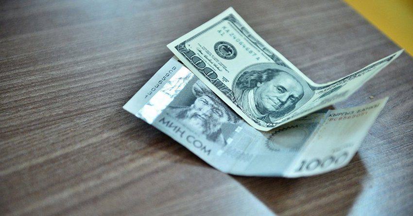 В июне банки КР увеличили кредитование в национальной и иностранной валюте