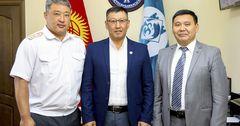 MegaCom окажет содействие ГУВД Бишкека и мэрии столицы в сфере безопасности