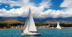 Каракол вошел в топ-10 популярных горных курортов СНГ