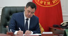 Садыр Жапаров сократил государственный аппарат на 30%