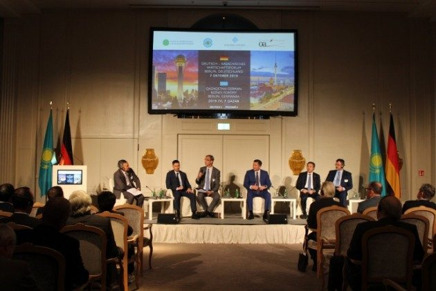 Казахстан и Германия реализуют проекты на $700 млн
