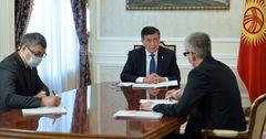 Президент КР рекомендовал вице-премьеру усилить взаимодействие с бизнесом