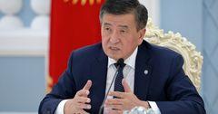 Жээнбеков раскритиковал работу правительства и Минздрава