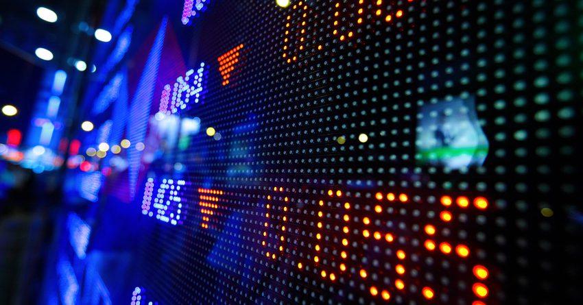 Объем торгов на фондовом рынке сократился на 78%
