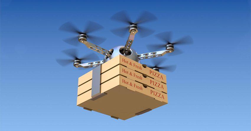 В США разрешат доставку с помощью дронов