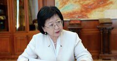Жеенбаева: Я считаю себя законным министром финансов (видео)