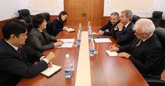 Делегация представителей 10 французских компаний посетила Кыргызстан