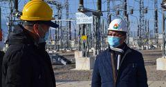 Глава Нацэнергохолдинга ознакомился с подготовкой к зимнему периоду «НЭСК» и  «Востокэлектро»