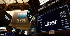 Акции Uber подешевели до рекордного минимума