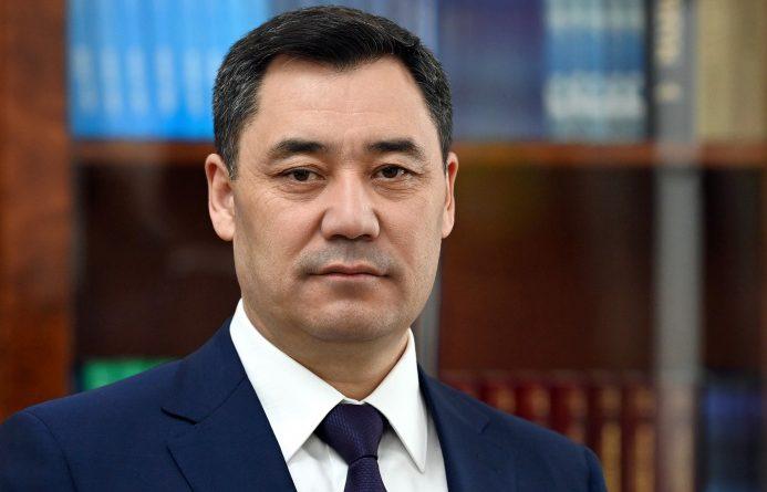 Садыр Жапаров подписал новую Конституцию