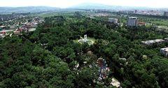 Мэрия Бишкека оштрафовала застройщика в парке имени Ататюрка
