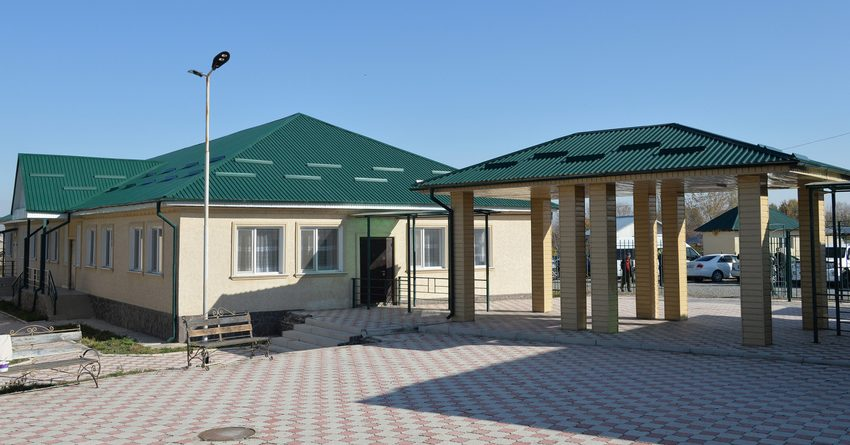 Спонсоры передали КР образовательный комплекс, построенный за $2 млн