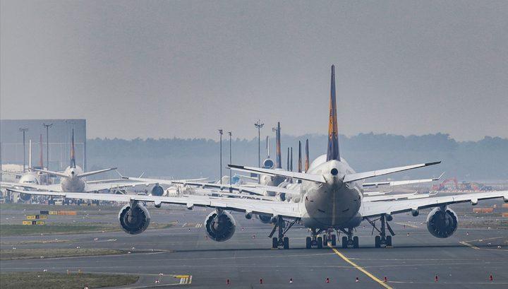 Россия отменяет все авиарейсы за рубеж