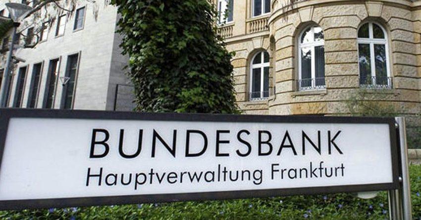 «Бундесбанк» спрогнозировал снижение ВВП Германии