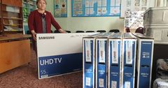 ЮНИСЕФ в КР купил интернатам телевизоры для дистанционного обучения