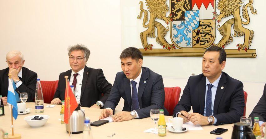КР и Бавария обсудили вопросы экономического сотрудничества