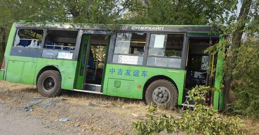 Из-за разбитых автобусов мэрия ежедневно теряет до 120 тысяч сомов