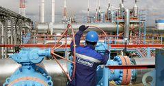 Доходы Газпрома от экспорта газа сокращаются на фоне роста объема поставок