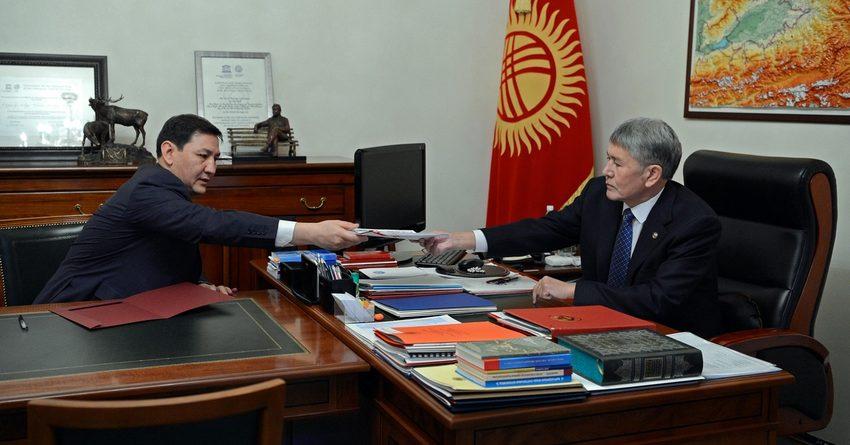Атамбаев поручил прокуратуре проверить данные ГКНБ одепутатах иMegacom