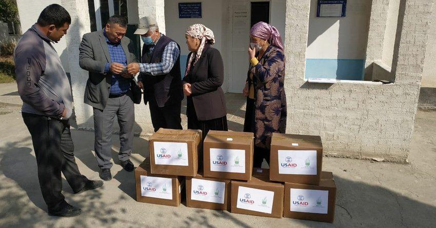 Фонд Ага Хана и USAID выделили более 9 млн сомов на поддержку семей КР