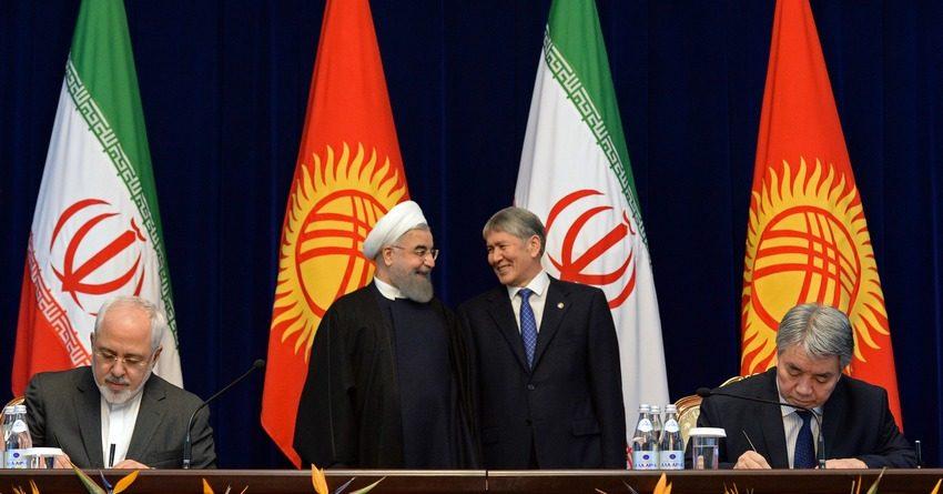 Больше бизнеса, чем политики: визит президента Ирана в Кыргызстан завершился на экономической ноте