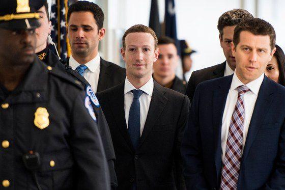 Состояние Цукерберга выросло на $2.7 млрд после выступления в Конгрессе США
