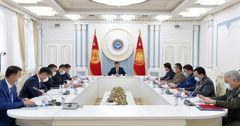 Совбез КР обсуждает возобновление экономической деятельности в стране